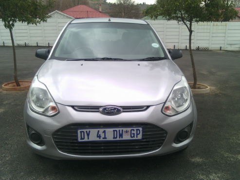 Ford Figo 1.4 2013 Model, 5 Doors, Factory A/C, C/D Player, Central Locking, Silver in Color, 34000K