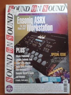 Sound on Sound Europe's No.1 Hi-Tech Music Recording Magazine. (All for the price of R100)