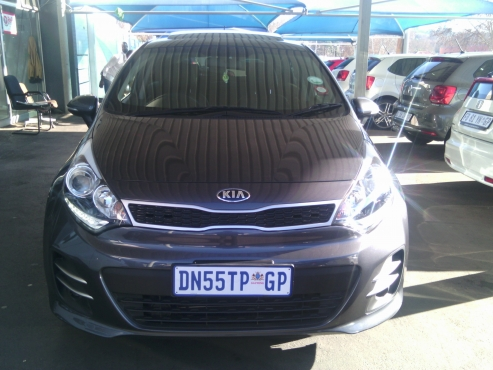 2015 Kia Rio 1.4 Tech Leather Interior with Sunroof, 5Doors, Factory A/C, C/D Player, Central Lockin