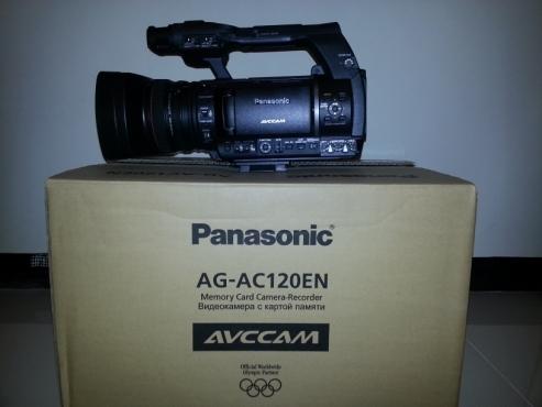 Selling new Panasonic AG-AC120ENU AVCHD Camcorder PAL