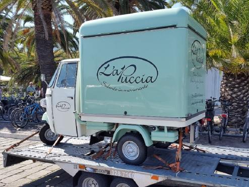frozen yogurt vans for sale