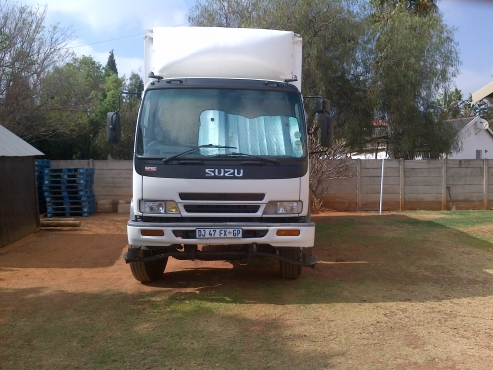 8 Ton Truck with Tail Lift Sky-Jack