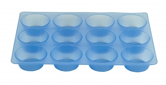 SILICONE MOULDS =MUFFIN 5/6/12 CUPS