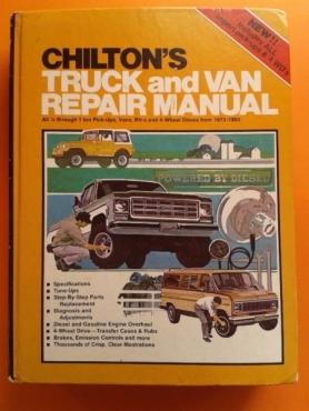 Chilton's Truck and Van Repair Manual - 1973 - 1980 (Number 6910).