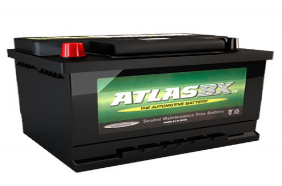 Atlas 636 12v 45ah Car Battery - Maiden Electronics Battery Fitment Centre