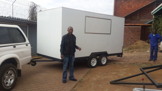 Fastfood and/or catering trailers for sale.