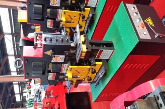 hydraulic iron worker / cropper