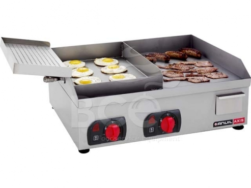 BACON & EGG FLAT TOP GRILL 600mm 3kw