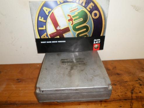Alfa Romeo 156 2.5 v6 Computer box   for sale  contact 0764278509   whatsapp 0764278509