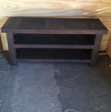 Food server Farmhouse series 1750 with extra shelf Wenge technique