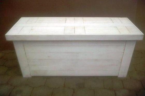 Study desk Farmhouse series 1520 White wash