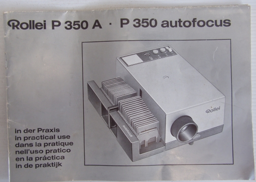 Rollie P 350 - Slide Projector