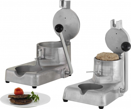 HAND OPERATED PATTY MACHINES 100mm & 130MM