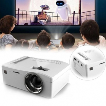 *LOCAL STOCK* 400LM HD Home Theater LED LCD Mini Projector Cinema USB HDMI SD AV Video