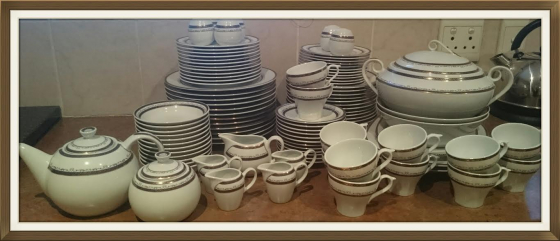 Porcelain Dinner Set +100Pcs