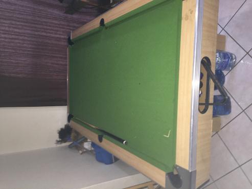 Pool Table & Table Tennis Combo