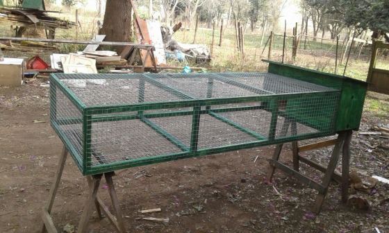 Plymouth Rabbit Hutch with 2m run