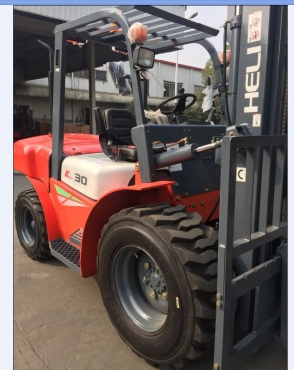 NEW HELI 3 TON ROUGH TERRAIN FORKLIFTS AVAILABLE!!