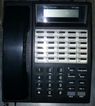 BBS Telecom IVT16D Operator Console