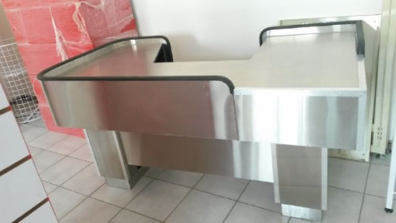 Stainless Steel Checkout Counter Both Custom & Standard *ON SPECIAL*