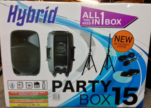 HYBRID PARTY BOX ACTIVE SPEAKER COMBO