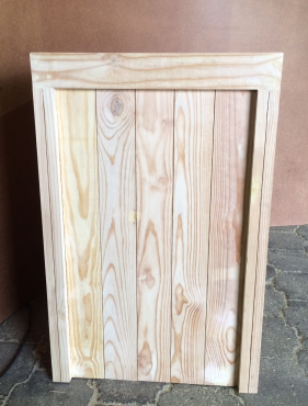 Kitchen Cupboard Base unit Farmhouse series 700 with 4 drawers Raw