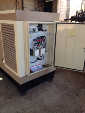 We build and install quality diesel 3 phase or single phase generators,