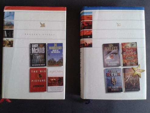 Used, 2 Reader's Digests Select Editions for this price - Ken Follett, Andy McNab. for sale  Johannesburg - East Rand
