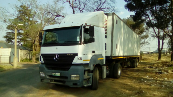 Looking for a good secondhand truck? 2008 Mercedes Axor 1835 with Refrigerator Van Body