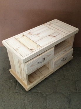 Coffee table Farmhouse series 850 with drawers Raw