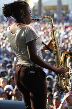 Female Saxophonist For Hire
