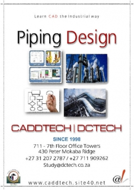 Piping Design - PDMS Learn CAD the Industrial way