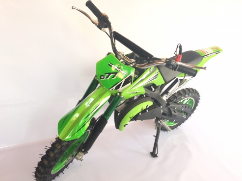 Kids 2 stroke 49cc mini dirt bikes on sale - NEW with upgraded pull start and carb