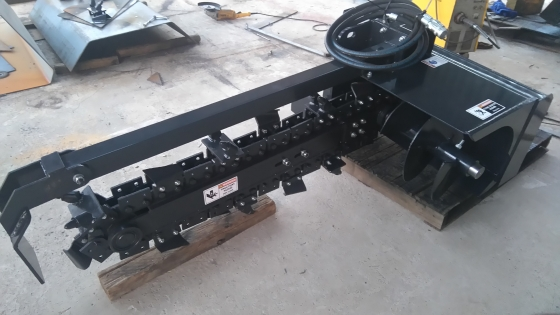Trencher skidsteer attachment ( new )
