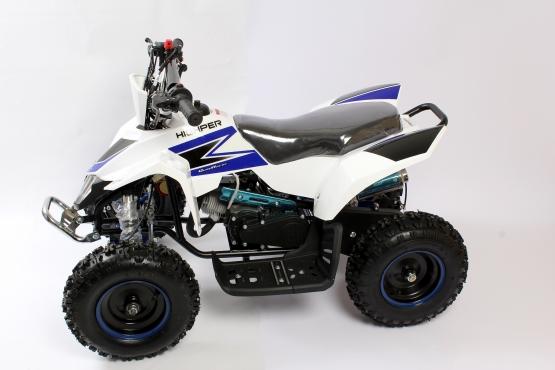 Big wheel electric start 49cc kids 2 stroke petrol quad bikes on sale - NEW