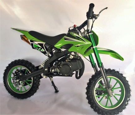 Kids 2 Stroke 49cc Mini Dirt Bikes On Sale New With Upgraded Pull Start And Carb
