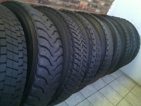 TRUCK TYRES FOR LONG DISTANCE
