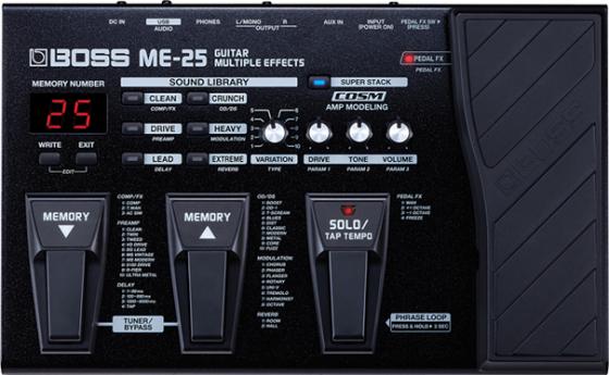BOSS ME-25 GUITAR MULTIPLE EFFECTS UNIT