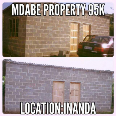 2 room  for  sale  at  inanda