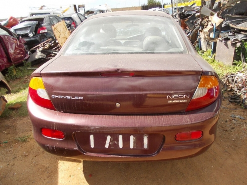 Chrysler neon taillights  for sale   contact 0764278509   whatsapp 0764278509