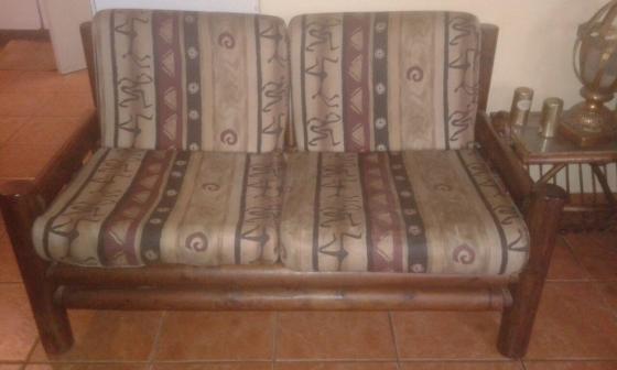 Log Wood Lounge Suite For Sale Junk Mail