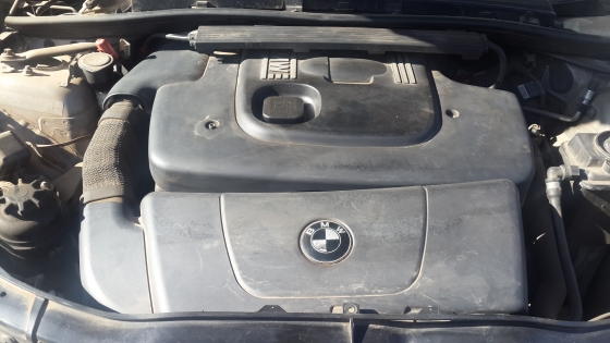 Stripping BMW 320d For Spares
