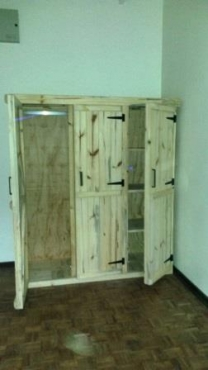 Wardrobe Farmhouse series 1600 3 door Raw