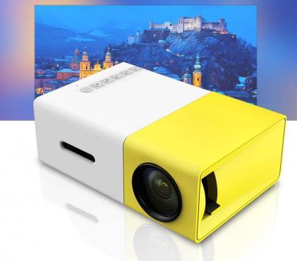 LOCAL STOCK* Portable HD LED Projector Laptop Home Cinema Theater USB/SD/AV/HDMI