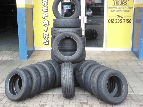 SPECIALS- BARGAIN USED TYRES FROM R299..