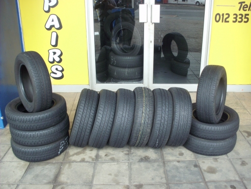 BARGAIN TYRES WITH 60%-80%TREAD