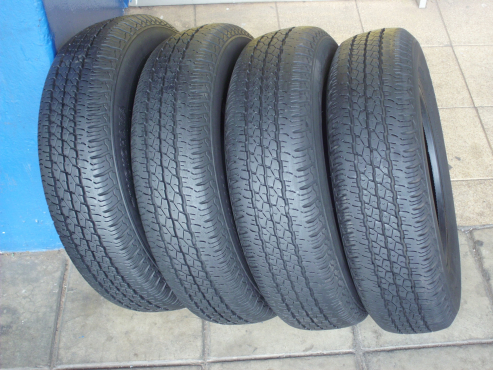 SECONDHAND TYRES  60%-80%TREAD, OVER 200 SIZES