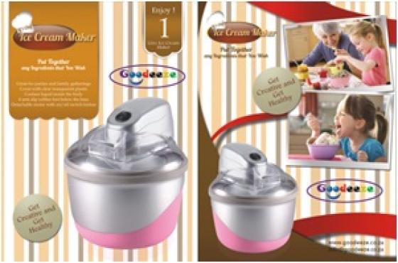 Ice Cream and Frozen Yoghurt Maker.