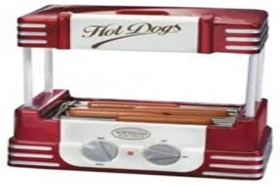 Retro Hot Dog Roller.