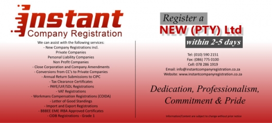 INSTANT COMPANY REGISTRATION-ONLINE APPLICATION-SERVICE